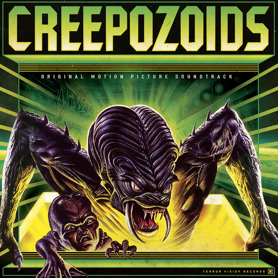 Creepozoids Soundtrack LP (LIMITED EDITION RSD EXCLUSIVE)