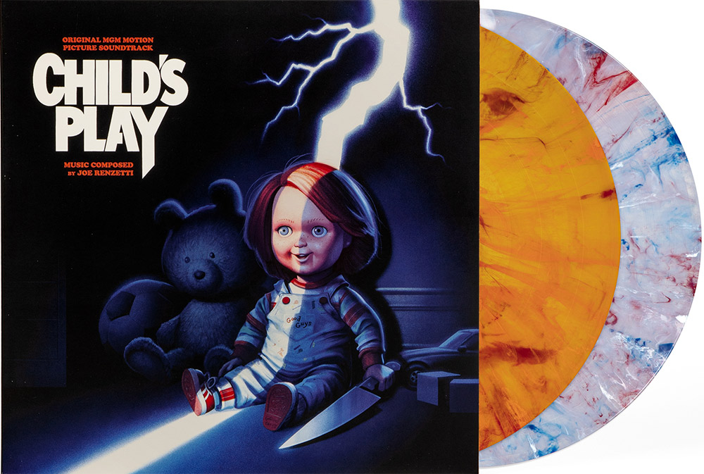 Child's Play 1988 Soundtrack LP Joe Renzetti 2 Disc Set LIMITED EDITION COLORED VINYL
