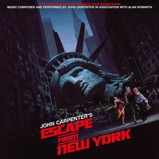 Escape From New York Expanded Souldtrack LP John Carpenter 2 LP Set LIMITED EDITION