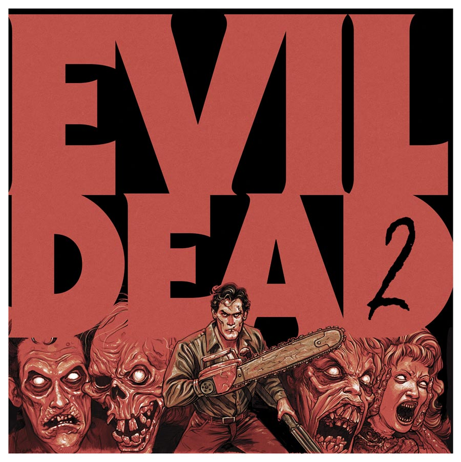 Evil Dead 2 Soundtrack Vinyl Lp Joseph Loduca Yellow