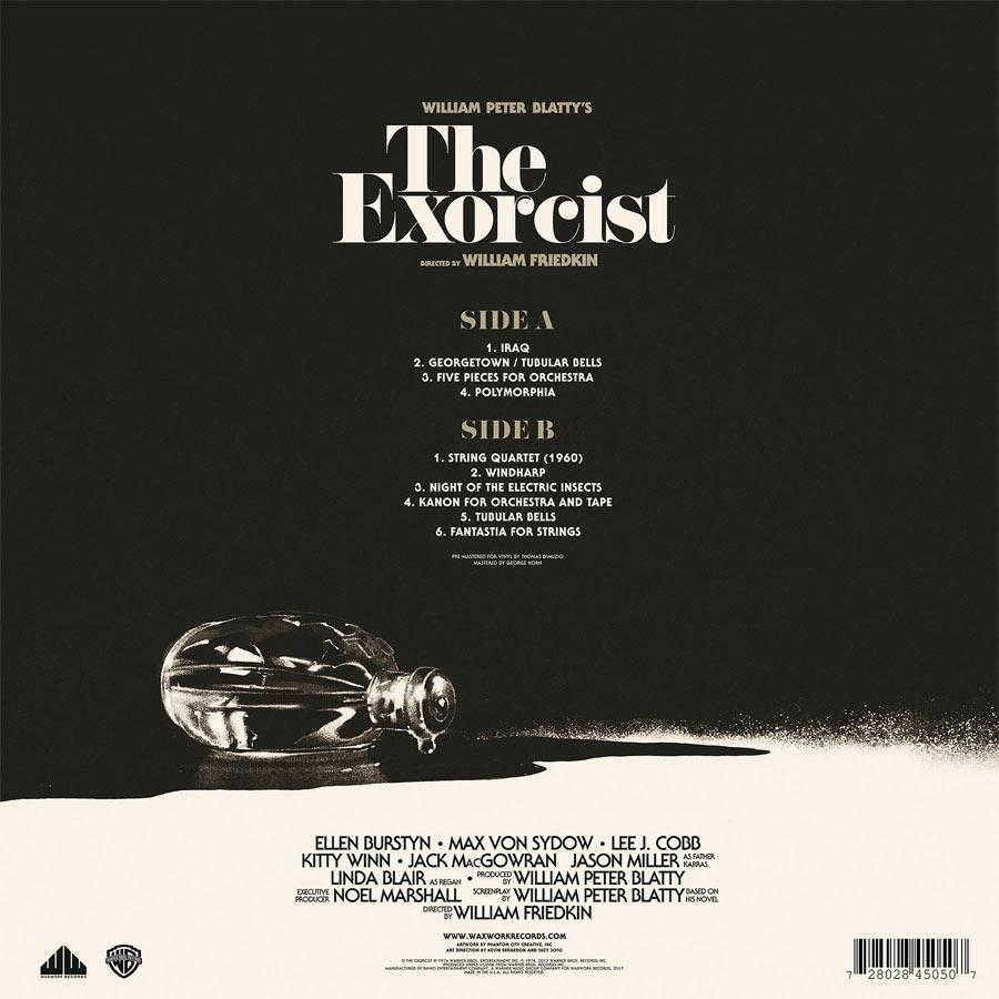 Exorcist Soundtrack Vinyl Lp Various Artists Exorcist