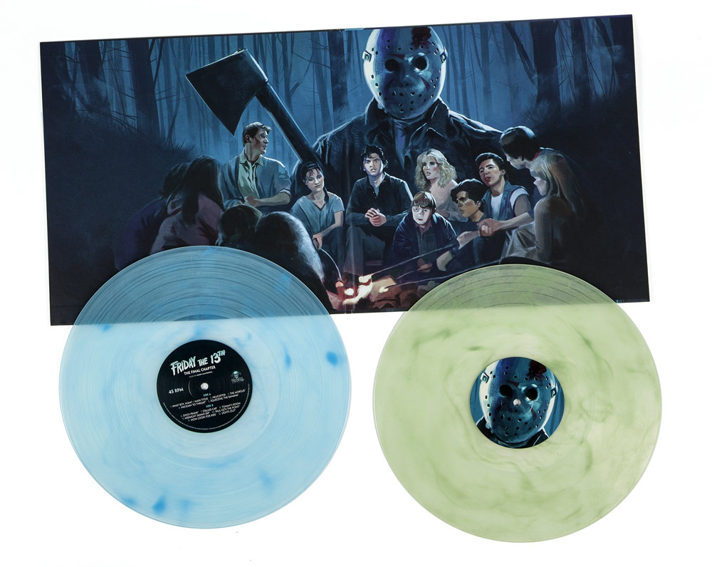 Friday The 13th Part IV The Final Chapter Soundtrack Vinyl LP 2 LP SET Harry Manfredini