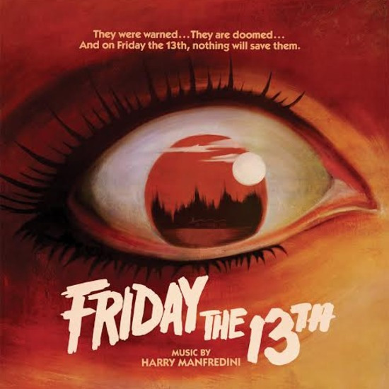 Friday The 13th 1980 Soundtrack LP Harry Manfredini Colored Vinyl