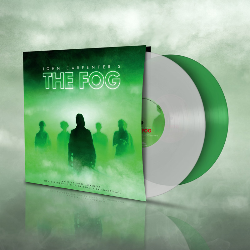 Fog, The John Carpenter Soundtrack Vinyl LP 2 Disc Set Colored Vinyl - Click Image to Close