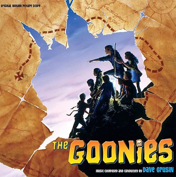 Goonies Soundtrack LP Dave Grusin 2 LP Set