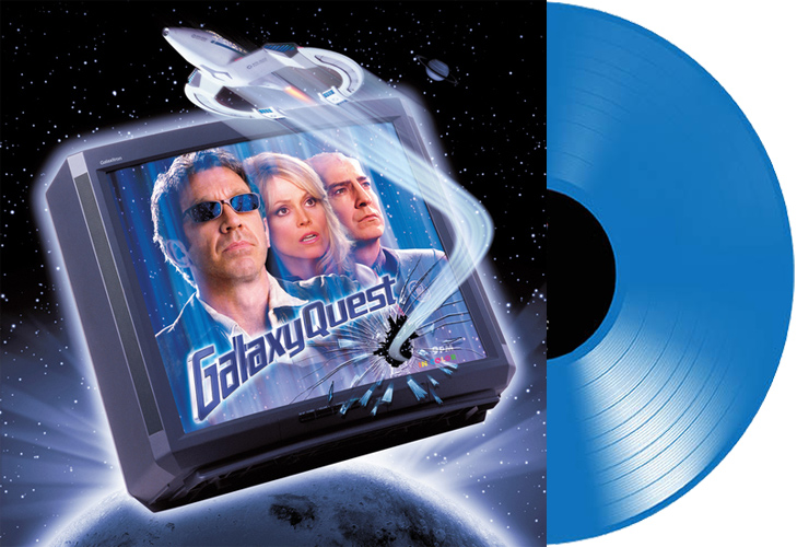 Galaxy Quest Soundtrack LP David Newman LIMITED EDITION Blue Vinyl