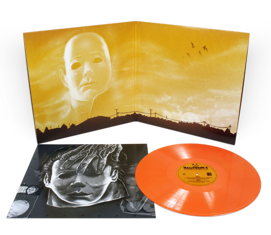 Halloween 4 Soundtrack Vinyl LP Alan Howarth Orange Vinyl