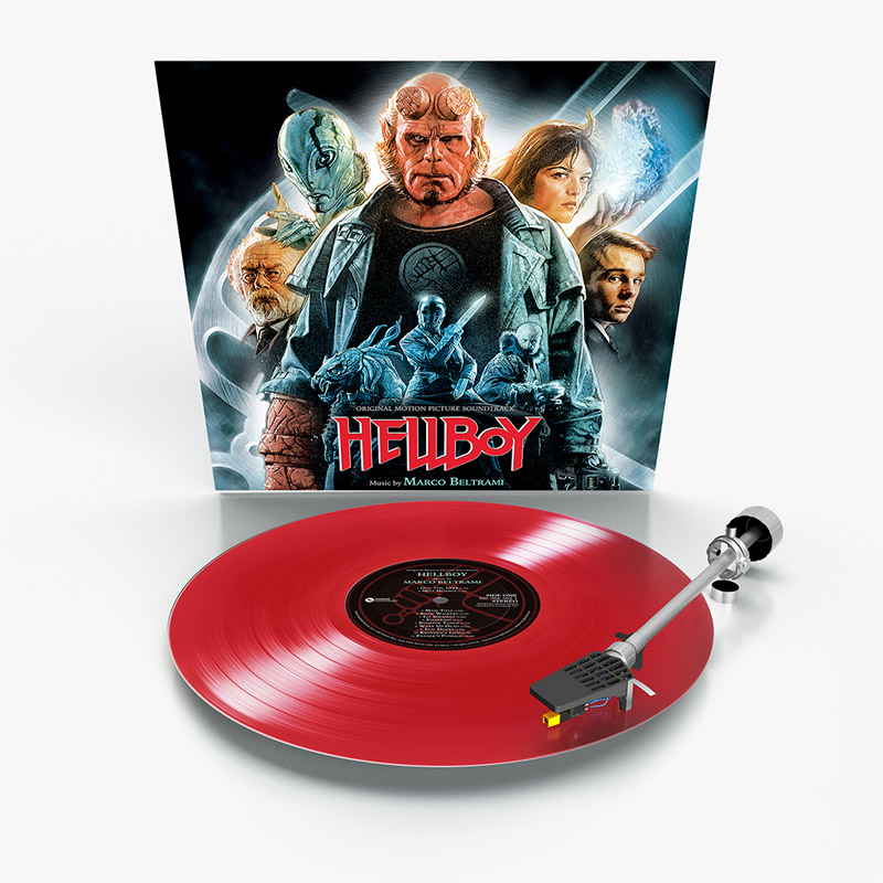 Hellboy Soundtrack Vinyl Lp Marco Beltrami Limited Red Vinyl