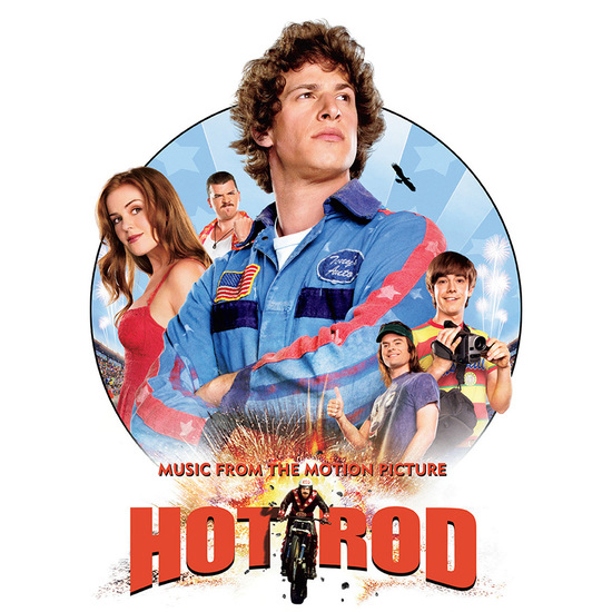 Hot Rod Soundtrack LP Trevor Rabin / Europe (LIMITED EDITION RSD EXCLUSIVE)