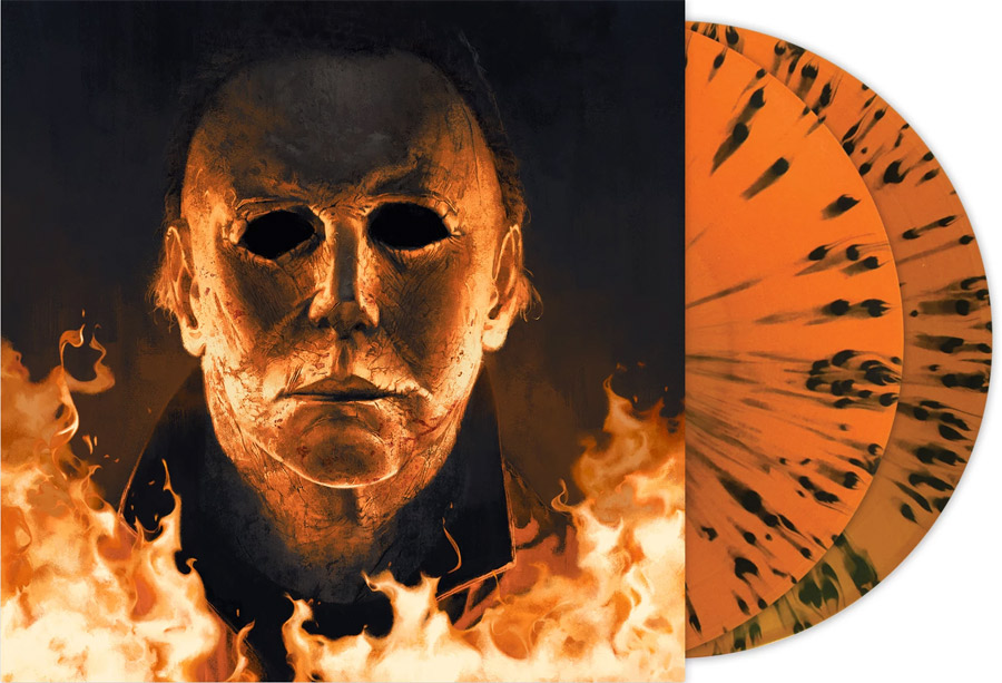 Halloween 2018 Soundtrack LP 2 Disc Set John Carpenter