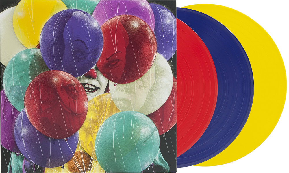 It 1990 a TV Series Soundtrack LP 3 Disc Set Colored Vinyl