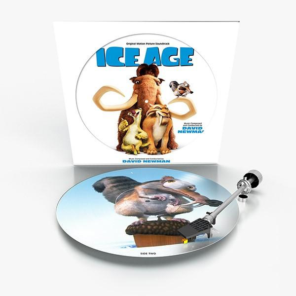 Ice Age Soundtrack Vinyl LP David Newman Limited Picture Disc