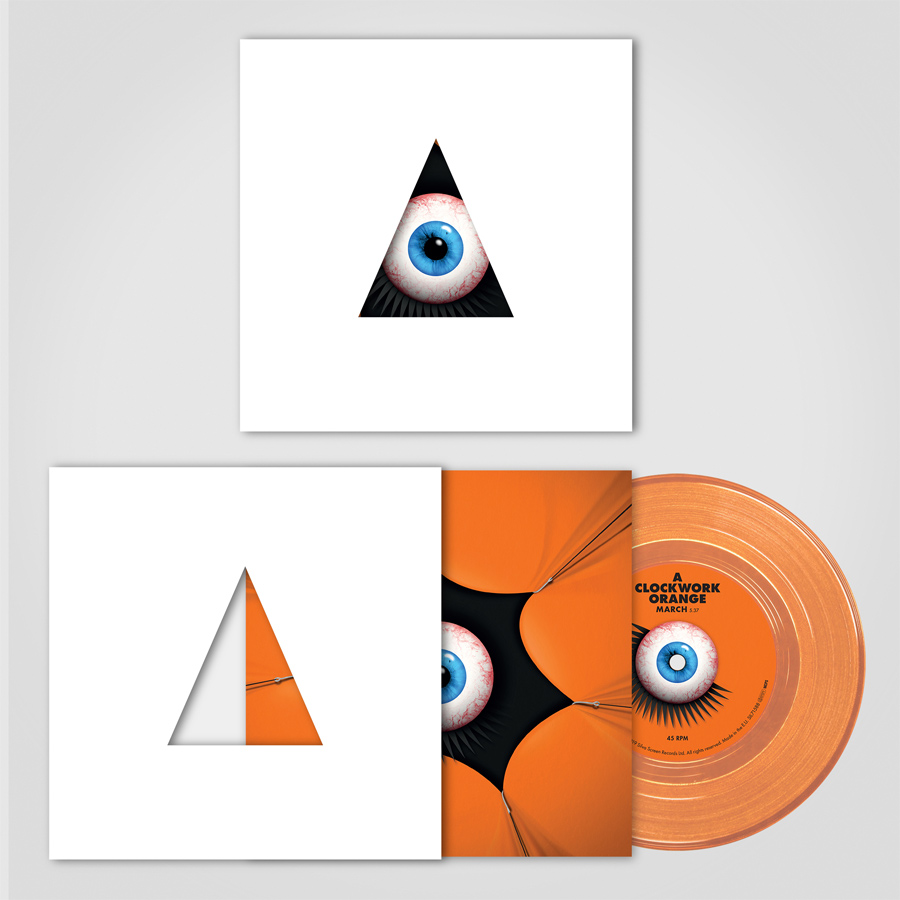 "Kubrick Clockwork Orange/The Shining 7"" Vinyl Single (LIMITED EDITION RSD EXCLUSIVE)"