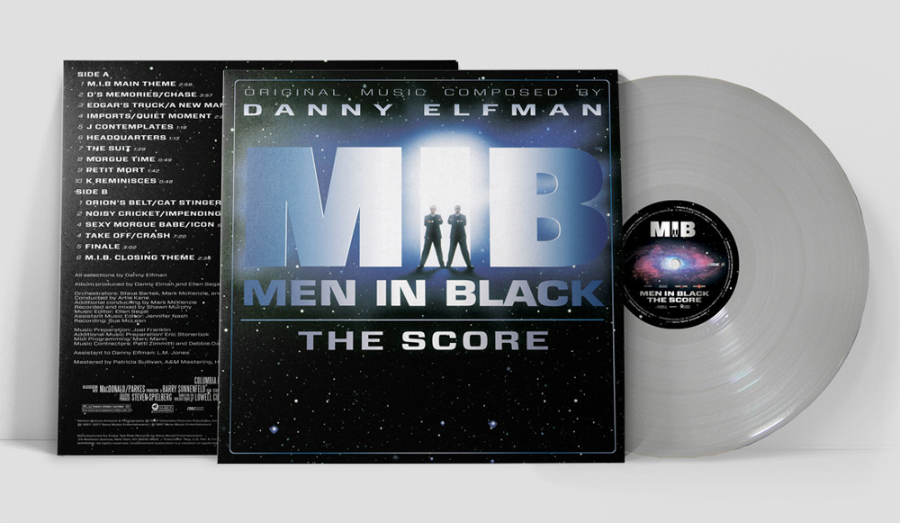 Men In Black 20th Anniversary Soundtrack Vinyl LP Danny Elfman