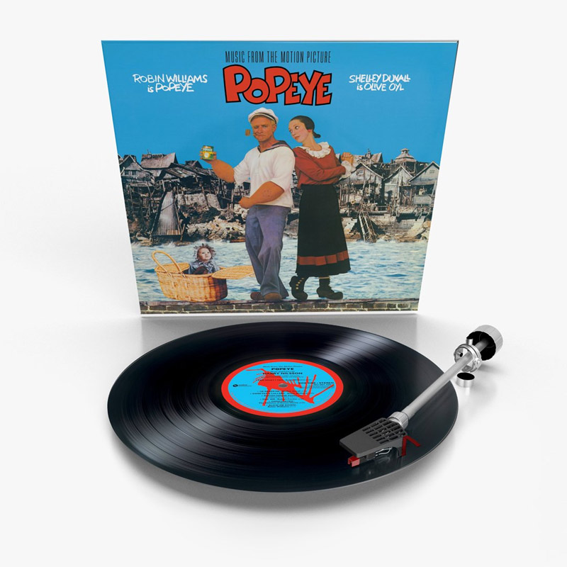 Popeye The Movie Soundtrack Vinyl LP Harry Nilsson