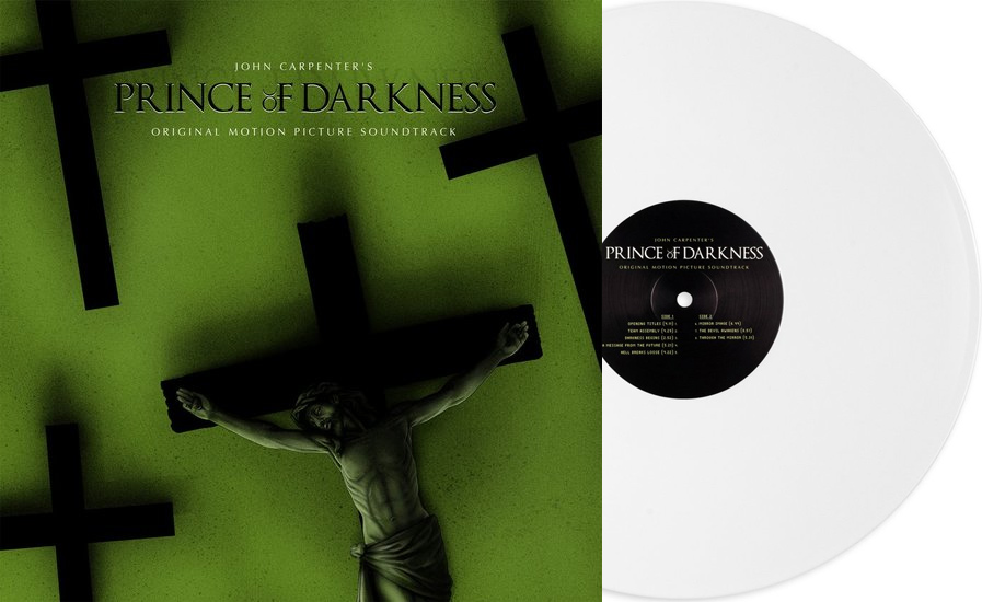 Prince of Darkness Soundtrack LP John Carpenter LIMITED EDITION White Vinyl