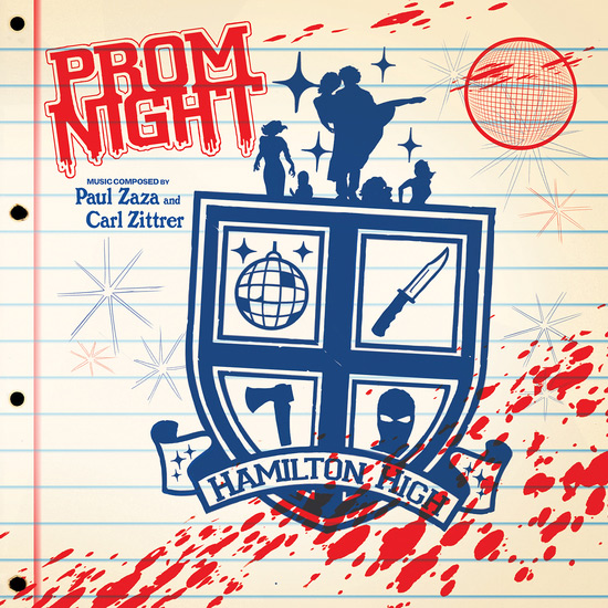 Prom Night 1980 Soundtrack Colored Vinyl LP Carl Zittrer and Paul Zaza