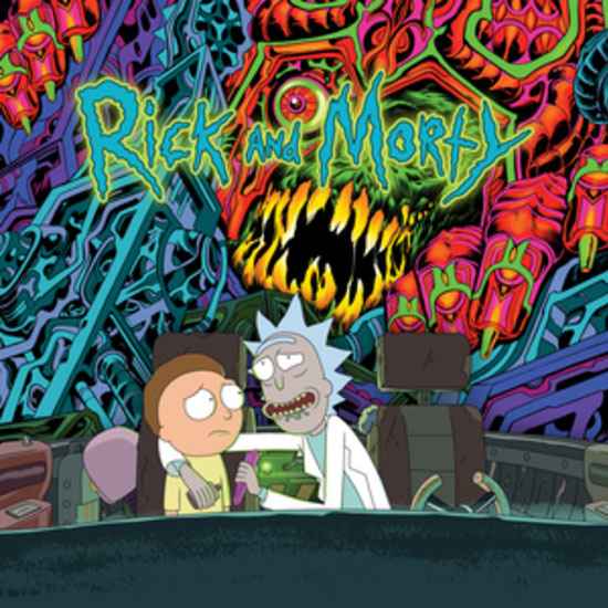 Rick and Morty Soundtrack Vinyl LP (Regular Edition) 2 LP Set