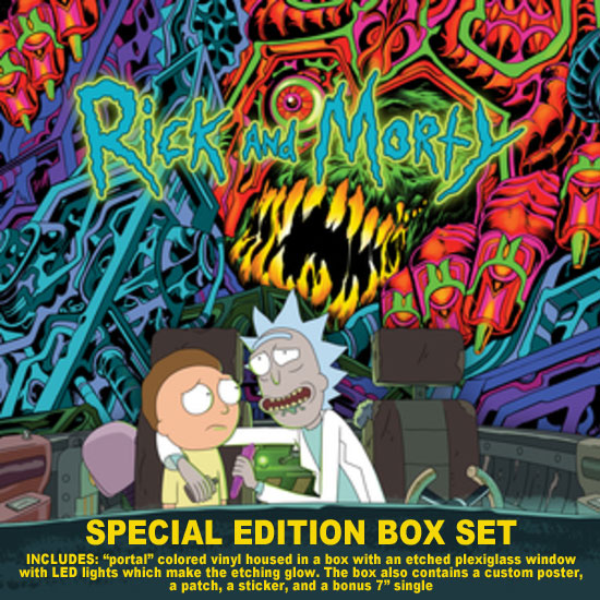 Rick and Morty Soundtrack Vinyl LP (Special Edition Box Set)