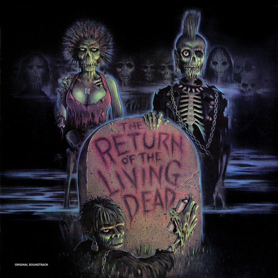 Return of the Living Dead Soundtrack Vinyl LP Colored Vinyl