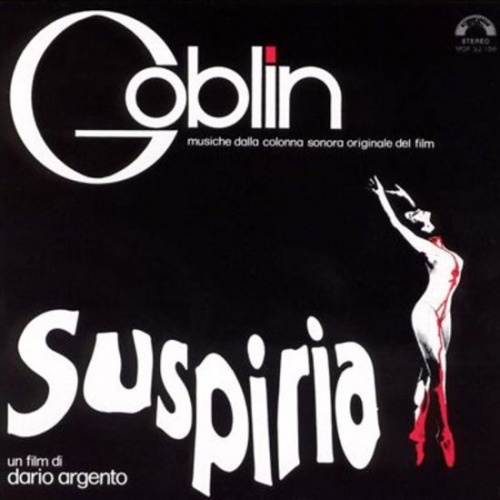 Suspiria Dario Argento Soundtrack LIMITED BLUE VINYL LP by Goblin