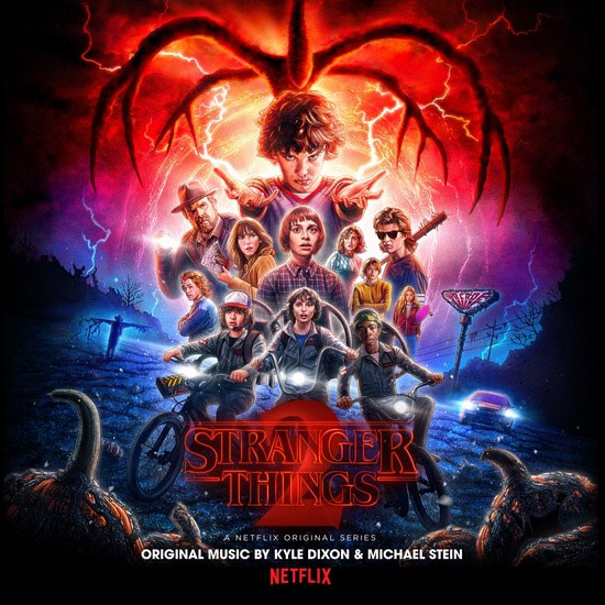 Stranger Things Season 2 Soundtrack Vinyl LP Colored Vinyl 2 LP SET Kyle Dixon and Michael Stein