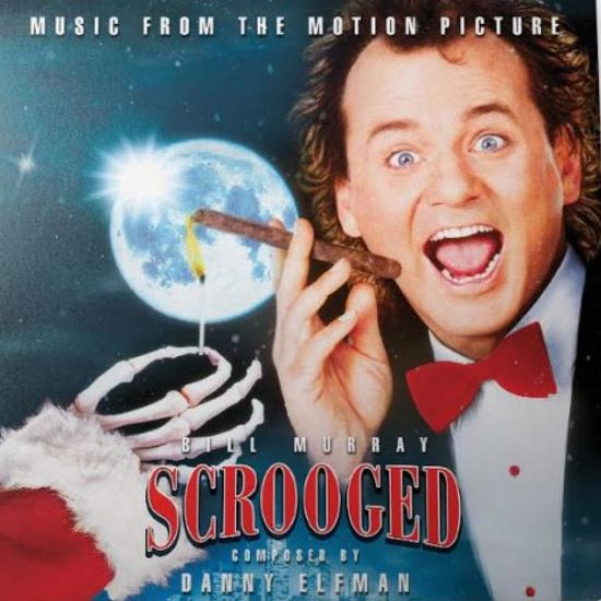 Scrooged 1988 Soundtrack Vinyl LP Danny Elfman Colored Vinyl