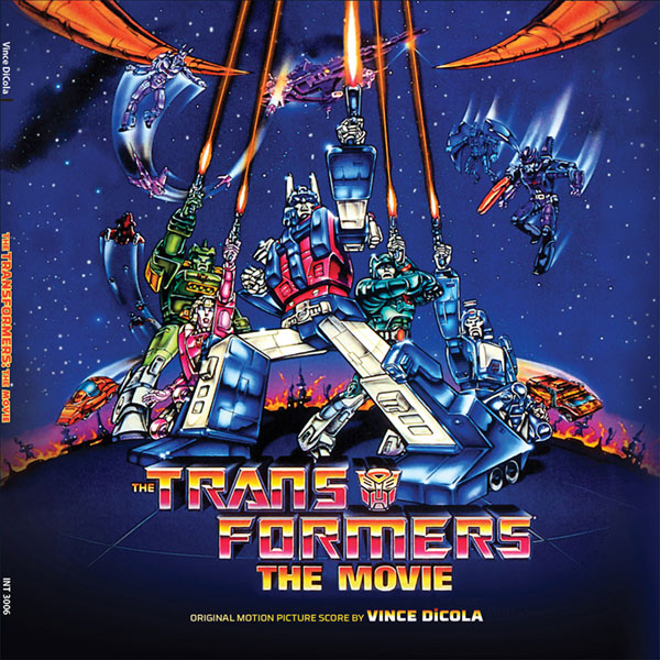 Transformers The Movie Soundtrack LP Vince Dicola 2LP Set