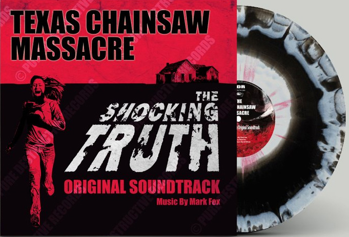Texas Chainsaw Massacre: The Shocking Truth Soundtrack Vinyl LP by Mark Fox