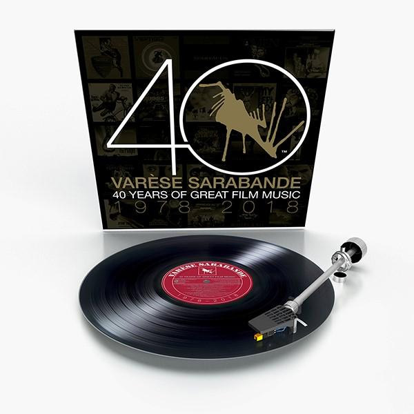 Varese Sarabande 40 Years of Great Film Music 1978-2018 Soundtrack Vinyl 2 LP SET Various Artists