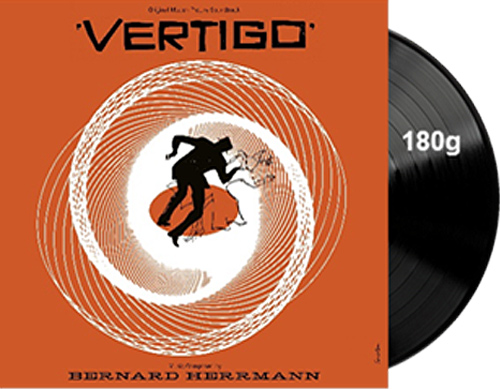 Vertigo Soundtrack Vinyl LP Bernard Hermann LIMITED EDITION - Click Image to Close