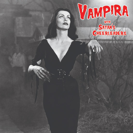 Vampira with Satan's Cheerleaders Soundtrack Red Vinyl LP