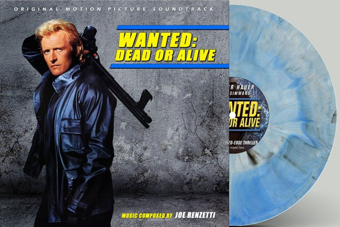 Wanted: Dead or Alive Soundtrack Vinyl LP Joe Renzetti Colored Vinyl