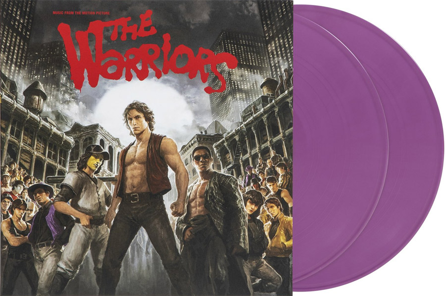 Warriors Soundtrack LP Barry DeVorzon 2LP Bopper Purple Vinyl