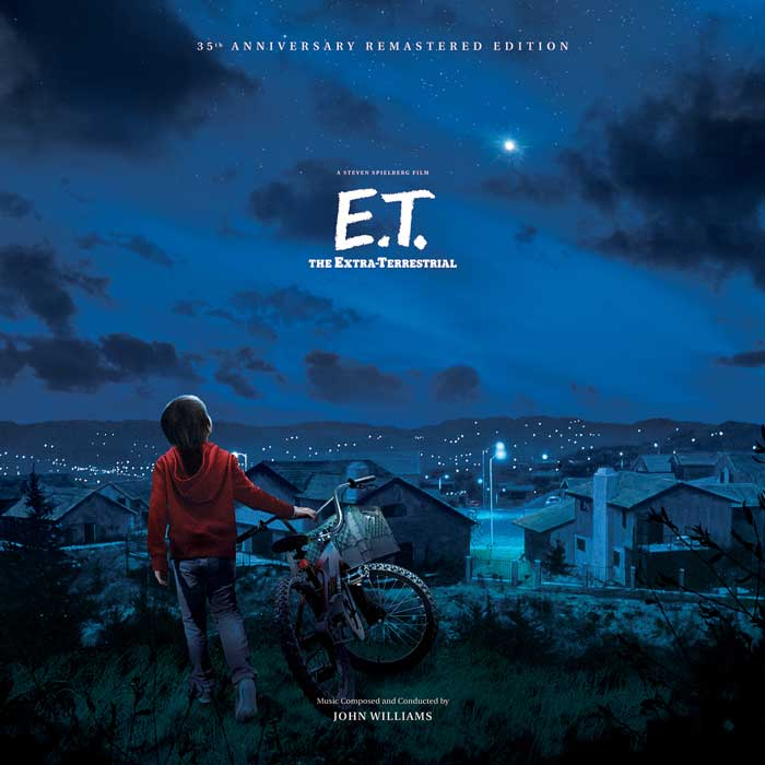 E.T. The Extra Terrestrial Soundtrack Vinyl LP Limited Edition 2 LP Set