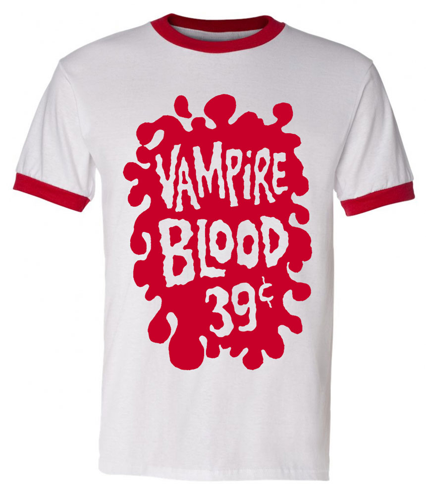 Vampire Blood T-Shirt XX-LARGE (2XL)