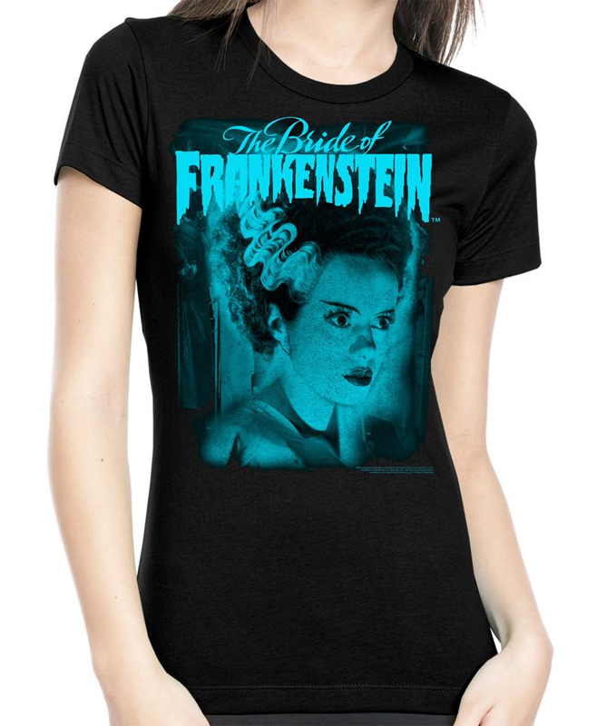 Bride of Frankenstein Blue Women's T-Shirt