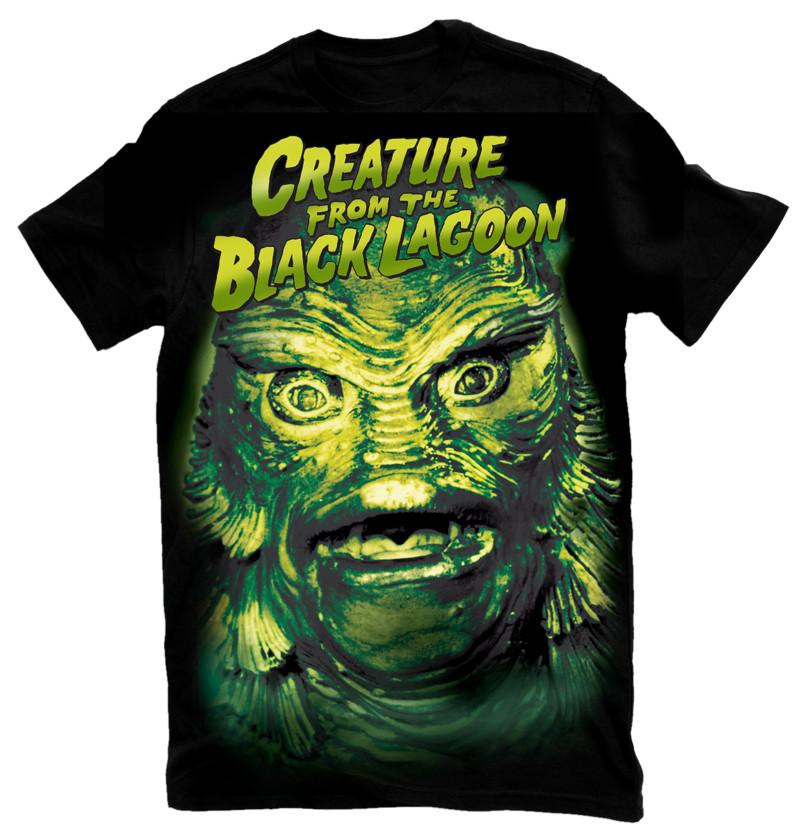 Creature From The Black Lagoon Head T-Shirt