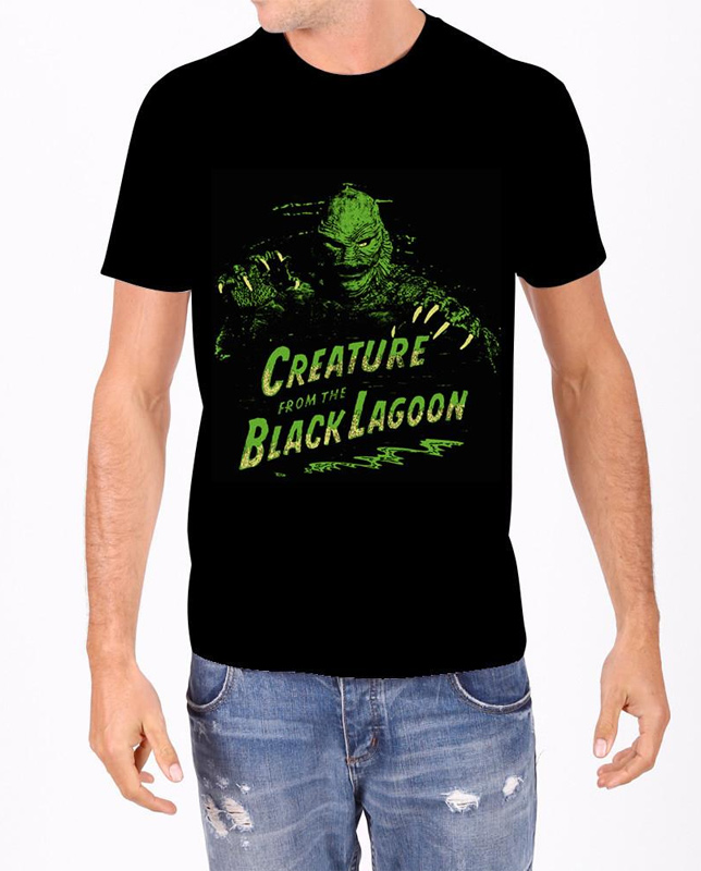 Creature From The Black Lagoon Green T-Shirt