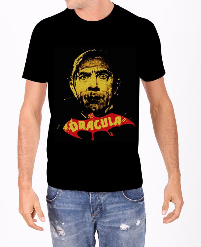 Dracula in Yellow T-Shirt Bela Lugosi