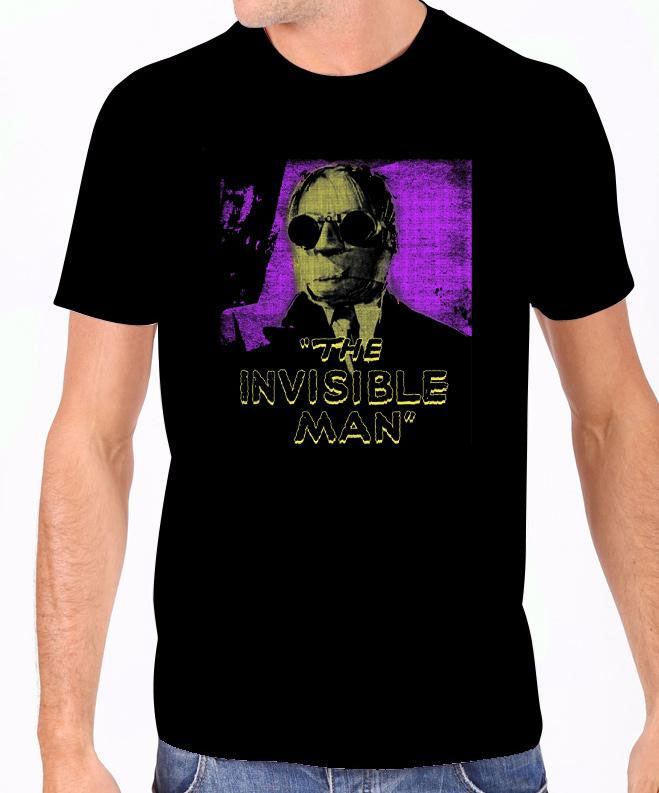 Invisible Man GLOW-IN-THE-DARK T-Shirt