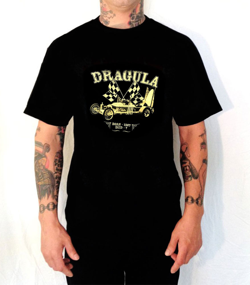Munsters Dragula GLOW-IN-THE-DARK T-Shirt