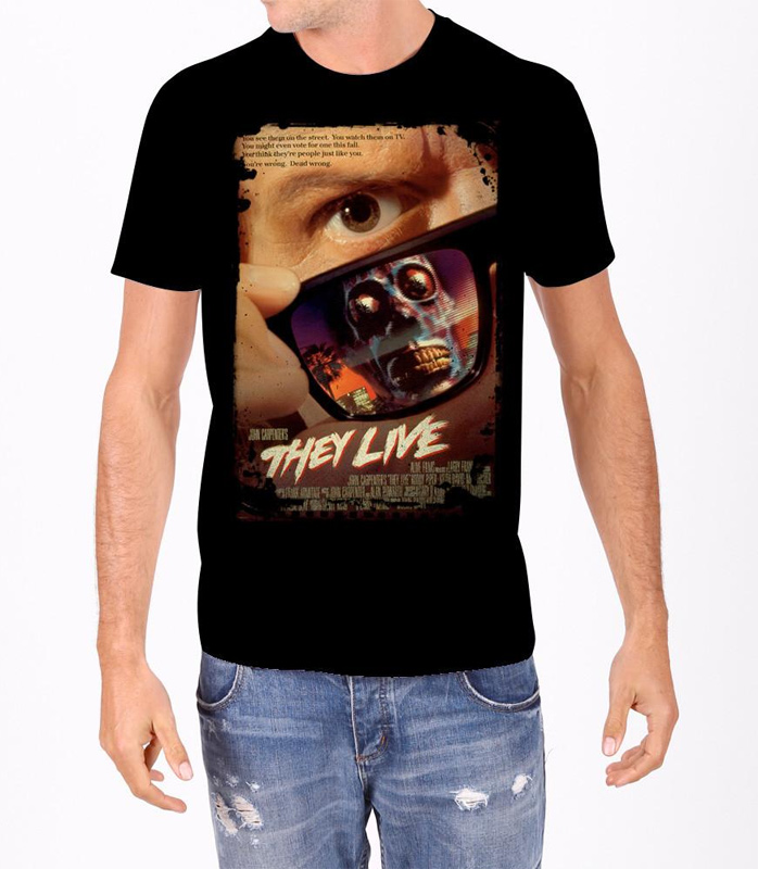 They Live Poster T-Shirt