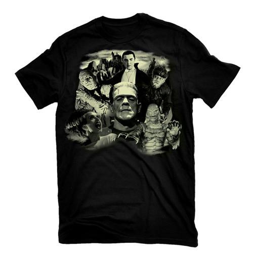 Universal Monsters Collage T-Shirt