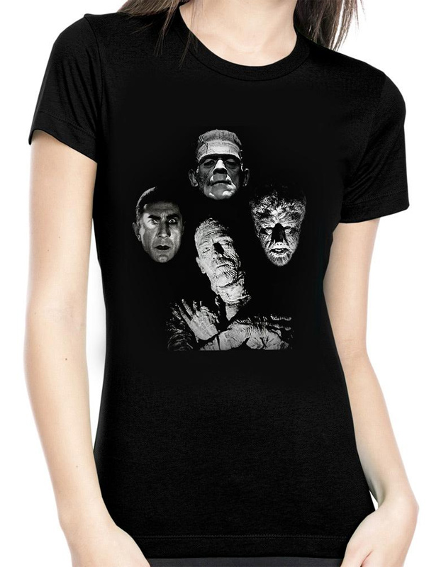 Universal Monsters Horror Band Women's T-Shirt