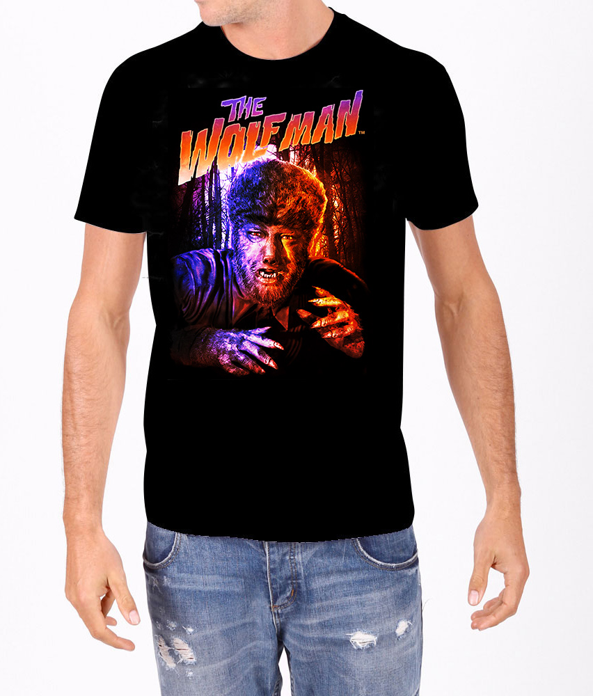 Wolfman In Color T-Shirt
