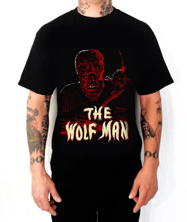 Wolfman Red T-Shirt