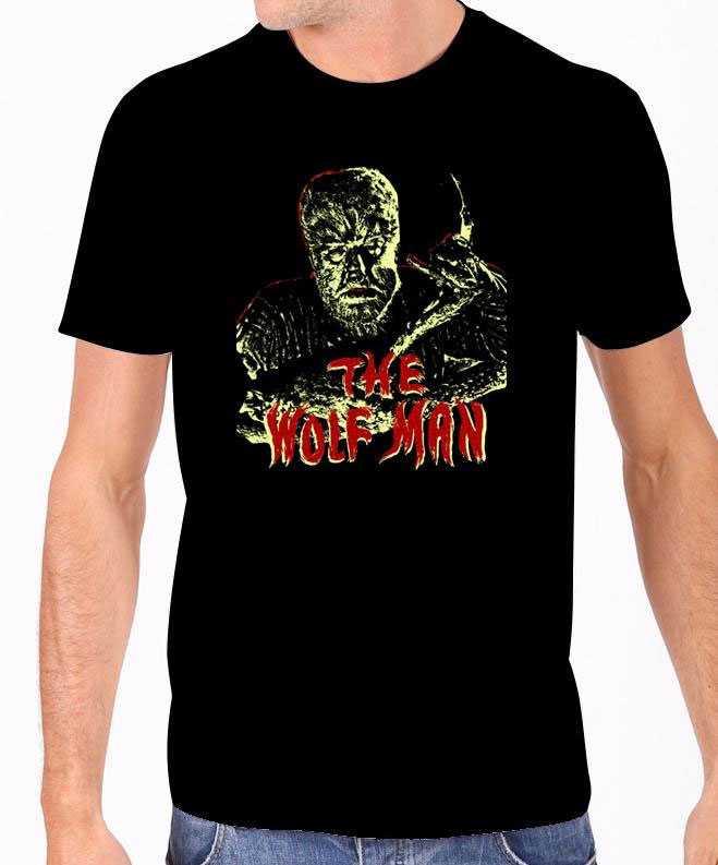 Wolf Man Lon Chaney GLOW-IN-THE-DARK T-Shirt