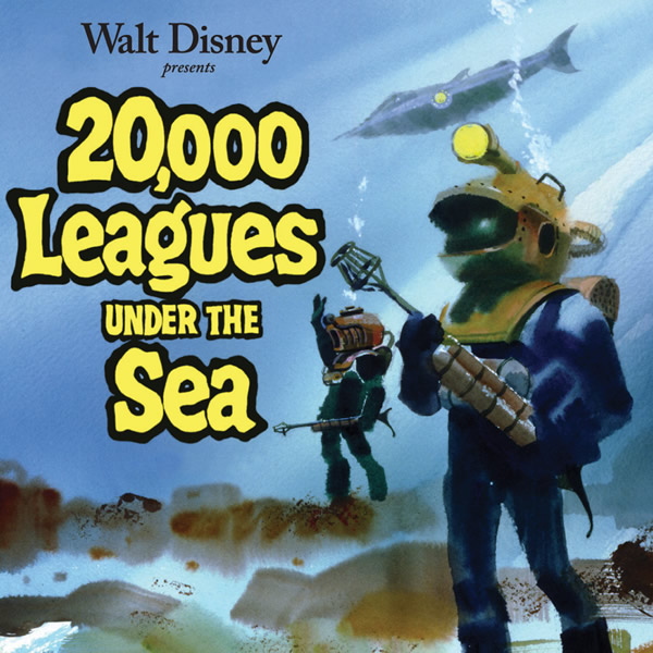 20,000 Leagues Under the Sea Soundtrack Paul Smith CD