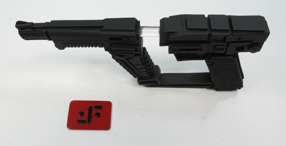 V TV Series Visitors Laser Pistol Gun Prop Replica With Lights V TV